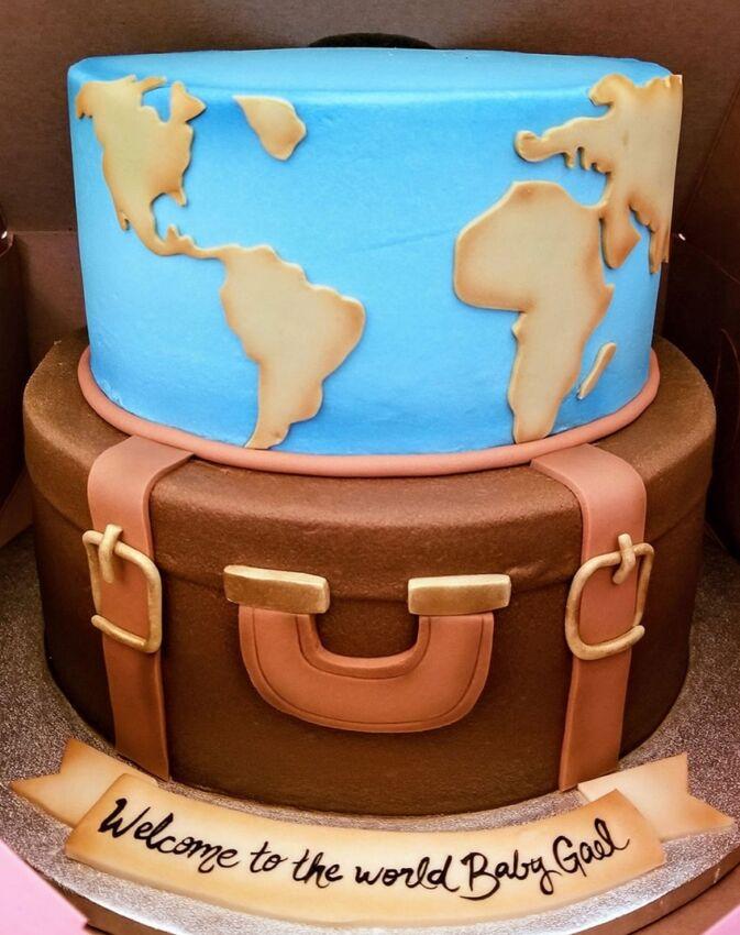Baby Shower Cake World