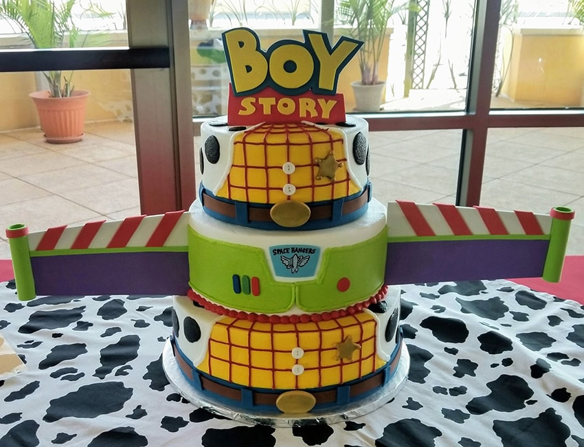 Baby Shower Cake Toy Story