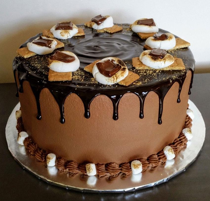 Ready Made Triple Chocolate Cake